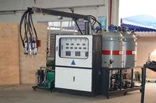 PU wheel injection machine
