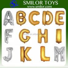 Hot Sale Promotional Cheap Alphabet Letter Foil Balloon