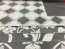 luxury silk flower jacquard curtain fabric