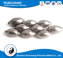 150g high quality precision polished tungsten fishing sinker