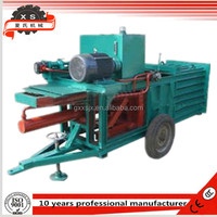 High Quality Hydraulic vertical semi-automatic baler machine /waste paper baling press machine pastures and farms