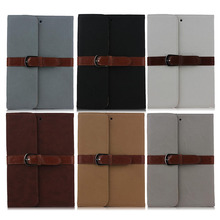 Briefcase style Leather Case for iPad Mini 4, case for ipad mini4 with buckle belt clip