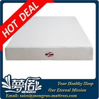 factory price queen compress rolled memory foam mattress
