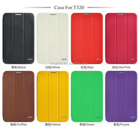 Good supplier leather flip cover case for samsung galaxy tab pro 8.4 sm-t320