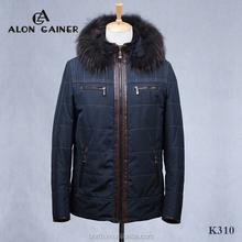 fashion men's jackets cotton-padded clothes Sheepskin Inside