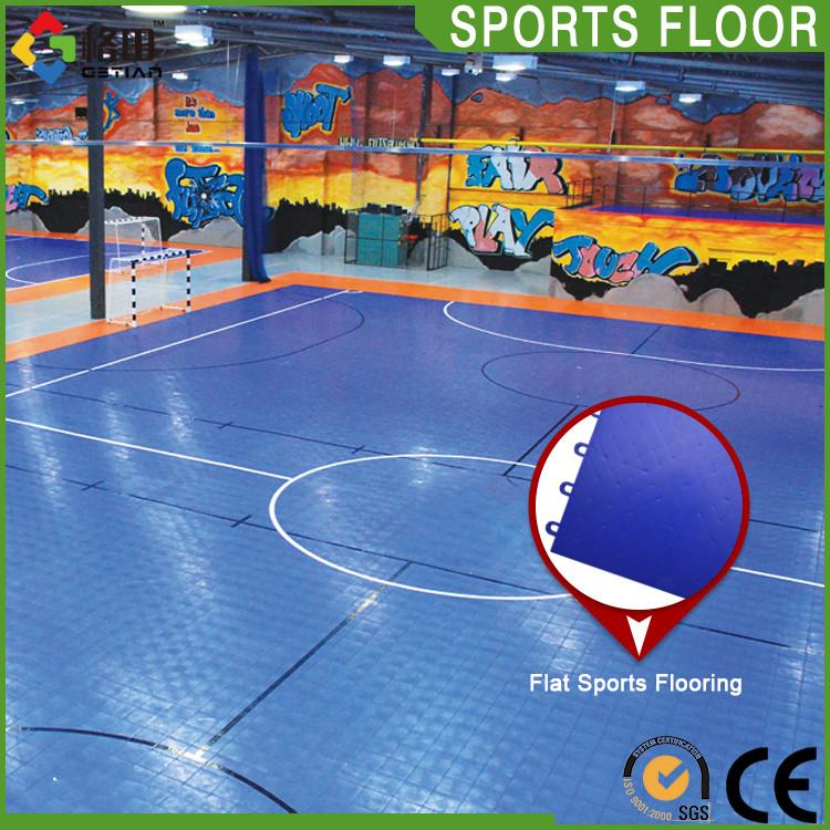 Venda quente durável interior piso de campo de futebol