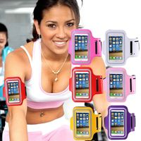 Waterproof Workout Brush Cover Gym Case for Apple iphone 5 5S 5G Holder +Key Slot Casual Sport Accessories Arm Band for iphone5