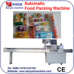 YB-100 Cotton Candy Automatic pillow Packing Machine