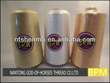 Bright color polyester embroidery thread