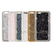 new for iphone 6 chrome bling rhinestone diamond case