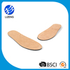 Shock absorber pigskin leather insoles for shoes with factory price