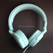 Excellent quality stereo leather headphone