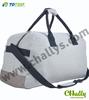 Retro quality leather travel canvas bag