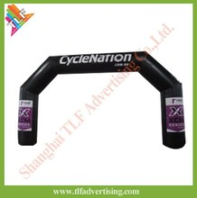 Advertising inflatable arch with Velcro Logo
