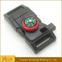 wholesale survival bracelet whistle fire starter