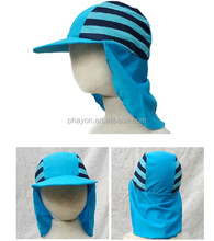 2015 Camping Hiking Beachwalking Sun Protection new design Summer Hat with Neck Cover Flap Caps