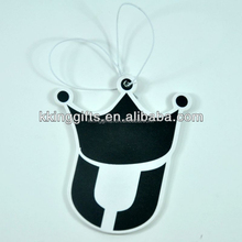 Private label crown shaped air freshener for hotel room