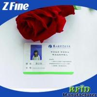 smart blood type identification card