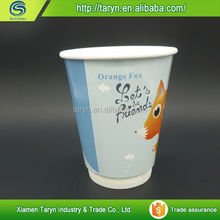 Custom logo printed hot drink logo printed disposable coffee paper cups,soda drink paper cup,double wall espresso cup