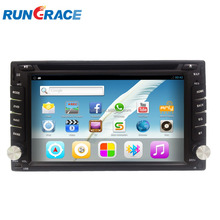 in dash universal slide down Android 7 inch car dvd player with CE