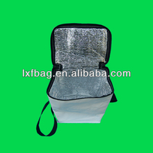 large thermal lunch insulate cooler bag