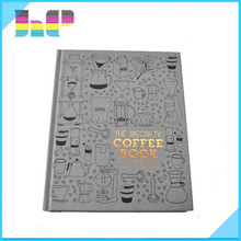 Offset printing full color wholesale bulk coffee books printing