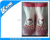 Hello kitty knitted pet baby sock shoes