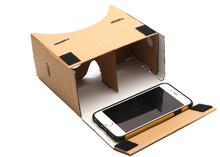Compact vitual reality 3d glass