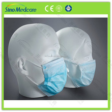 Surgical antibacterial non woven material face mask