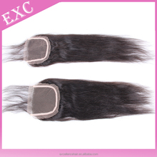 Silky straight brazilian hair set of straight hair wefts and closure