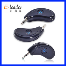 2014 hot design V3.0 bluetooth for dual phones steering wheel mounted car bluetooth handsfree kit