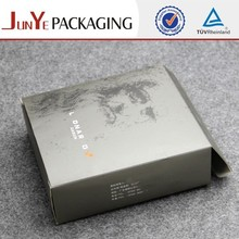 Popular high quality custom printed 300 gsm paper box packaging