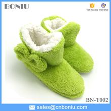 shu velveteen plush women warm home slippers boots winter