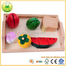 Top Selling 2014 Educational Kid Wooden Cutting Toy