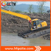 Construction equipment mini dredging excavator