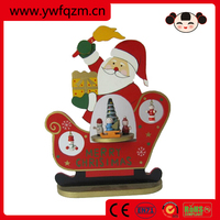wooden toys christmas craft music buttons