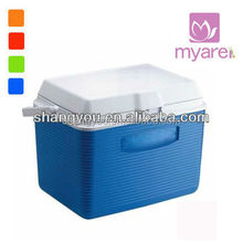 19L blue portable insulated coolest ice chest