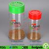 280ml clear PET plastic spice jars seasoning bottle supplier
