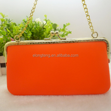WHOLESALE 2015 Hot Sale Ladies metal hand Bag Jelly Candy for Women