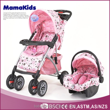 popular lucky baby stroller with big wheels and carrier