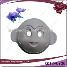 cheap plain white diy party paper masks for kids