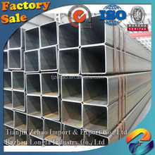 building material/hollow tube/metal/ERW Q235B Zinc China Galvanized square steel pipe
