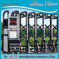 Churrasqueira portão de ferro projeta portões barreira elétrica
