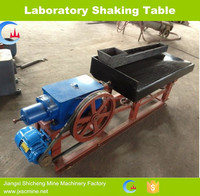 laboratory shaking table for mineral separator
