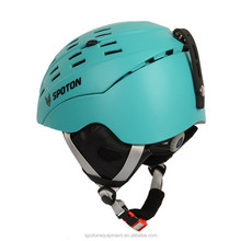 2015 new style CE EN1077 snow helmet with double shell