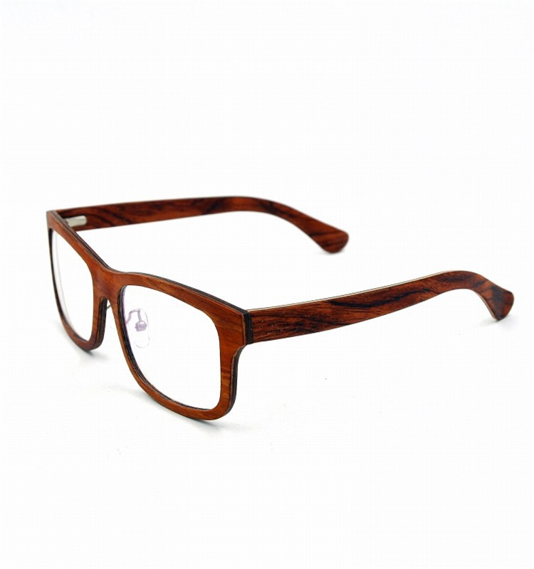 Latest Glasses Frames For Ladies : Newest 2014 latest wooden optical eyeglass frames for women