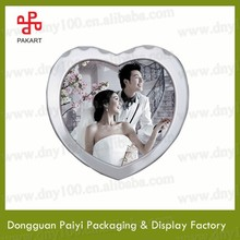 Heart shape love wedding frames for photos