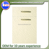Factory supply pvc kitchen cabinet door for kitchen design