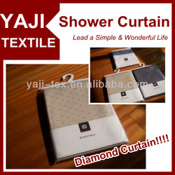 NEW Dobby !! Bathroom shower Diamond Curtain