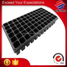 72 cells plastic flower pot trays rectangular for garden wholesale